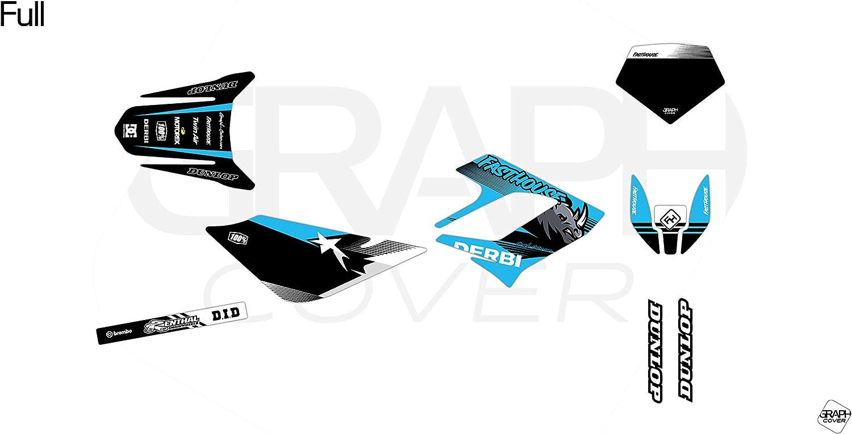 Kit Deco Motocross Derbi DRD 50 Racing Ike 2004-2009