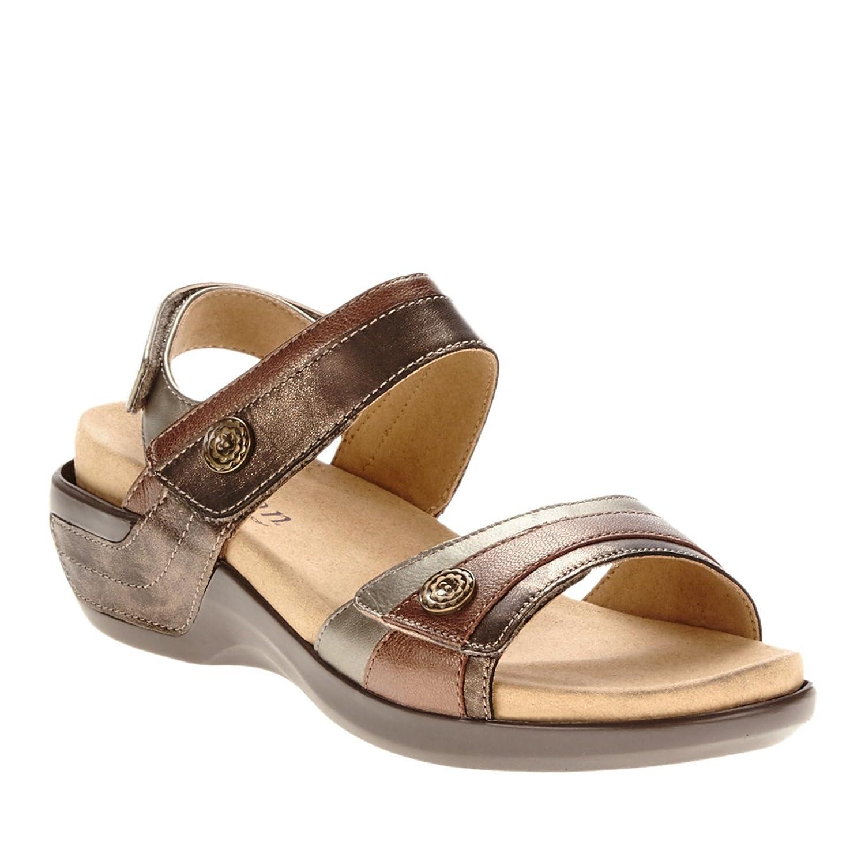 Aravon  Womens Katherine-AR Flat Sandal