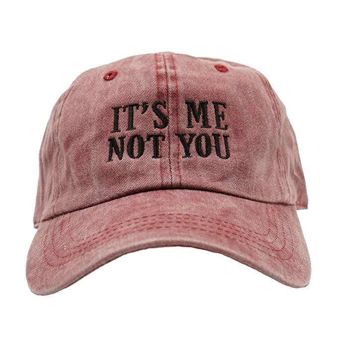 Nissi It s Me Not You Dad Hats at Amazon Men s Clothing store  b9b1df7b3ca
