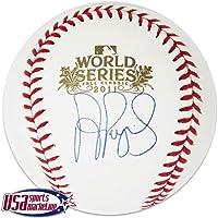 $581 » Albert Pujols Autographed Ball - 2011 World Series Auth - JSA Certified - Autographed Baseballs