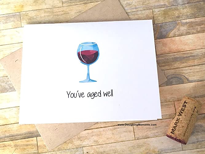 Amazon Wine Lovers Birthday Card
