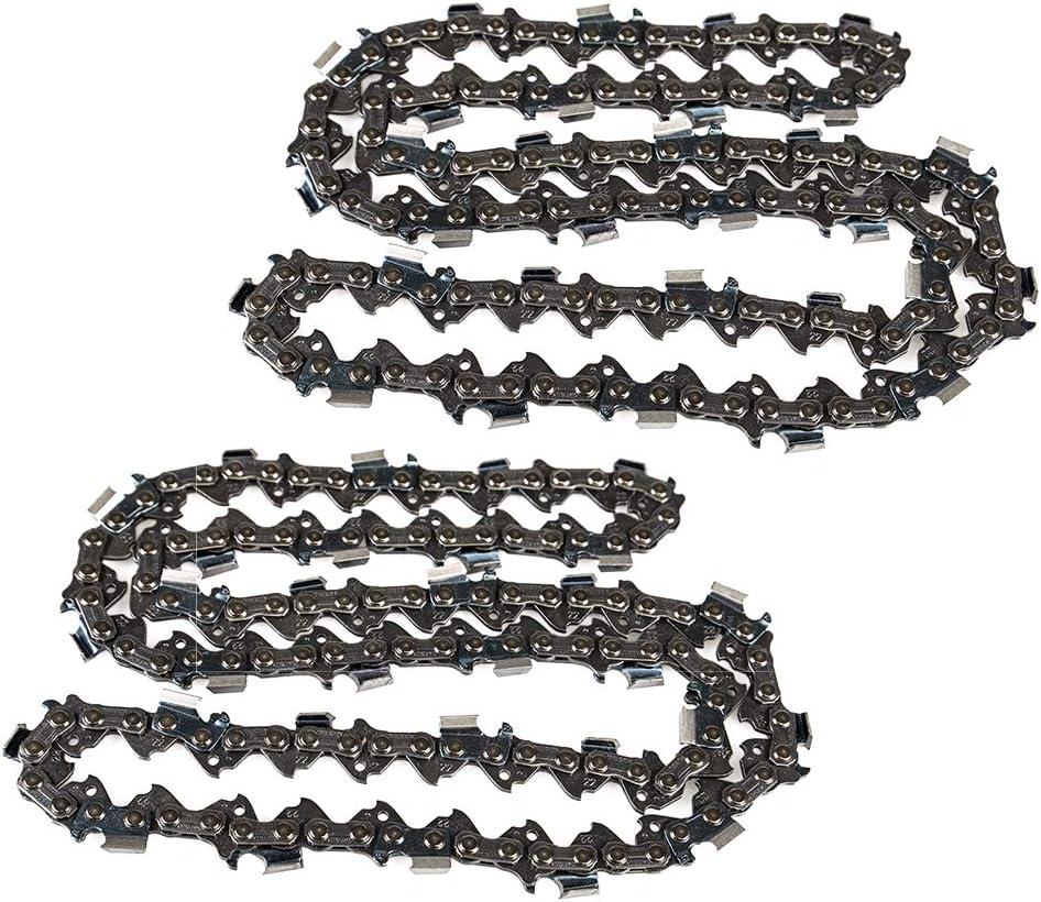 "2X 16/"" Semi Chisel Saw Chain for Oregon 22BPX067G Chainsaws"