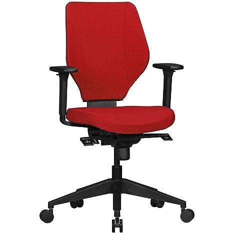 KS-Furniture Collin - Silla de Oficina ergonómica con Funda ...