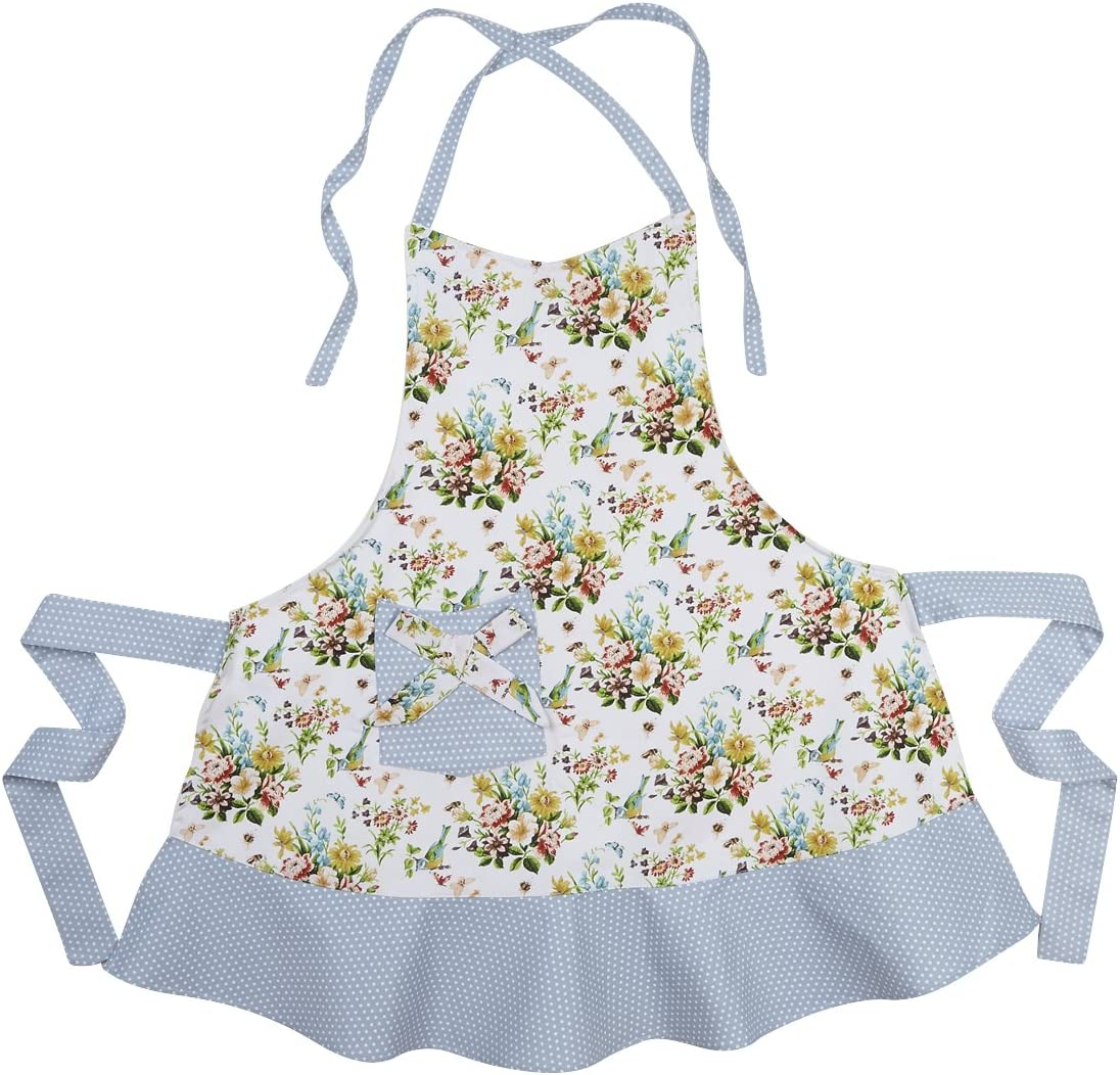 Ladies Chabby Chic Vintage Style 50s Apron
