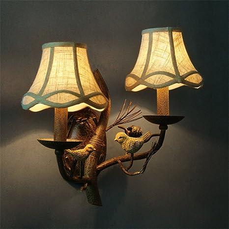 YU-K Antigüedades de estilo industrial de Edison lámpara de ...