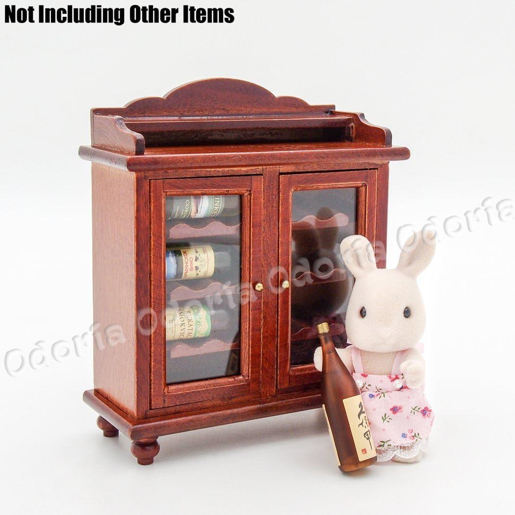 Gojiny Miniatura Muebles de Casa de Mu/ñecas Tocador 1:12 Casa de Mu/ñecas en Miniatura Dormitorio Tocador Taburete Modelo Accesorio de Juguete Modelo de Casa de Mu/ñecas para Ni/ñas