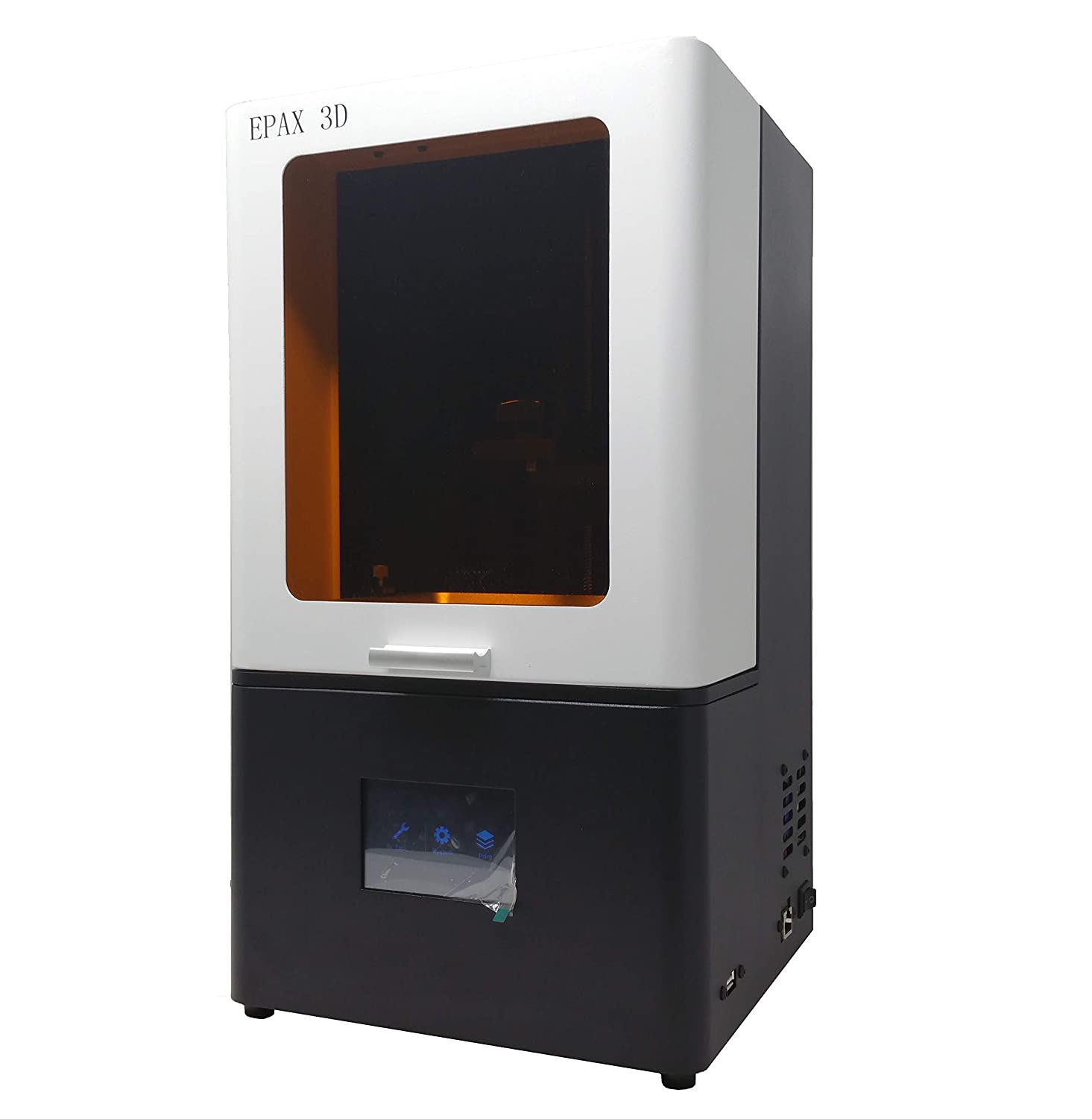 EPAX X1 UV 5.5 inch LCD 3D Printer, Orange Window with Ethernet Port