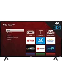 TCL 50S425 50 inch 4K Smart LED Roku TV (2019) Store: TVs on Amazon.com