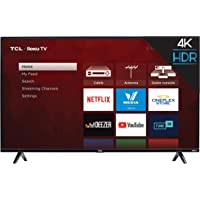 TCL 50S425 50 inch 4K Smart LED Roku TV (2019) Amazon Best Sellers: Televisions