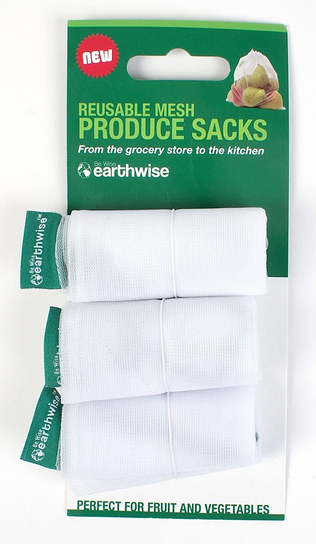 Set of 3 Earthwise環境にやさしい再利用可能なメッシュProduce Sacks 50-Pack (150 bags) COMINHKR065741 B00CNFUW0S   50-Pack (150 bags)