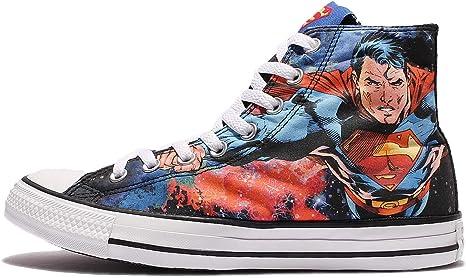 Hi Superman Sneaker Unisex Shoes (05.0