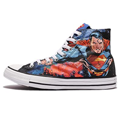 476678ec219777 Converse Chuck Taylor All Star Hi Superman Sneaker Unisex Shoes (11 M US)
