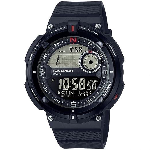 Casio Reloj Digital para Hombre de Cuarzo con Correa en Resina SGW-600H-1BER: Amazon.es: Relojes
