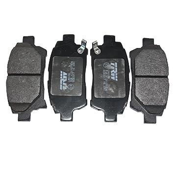 Blue Print ADT342105 Bremsbelagsatz vorne, 4 Bremsbel/äge