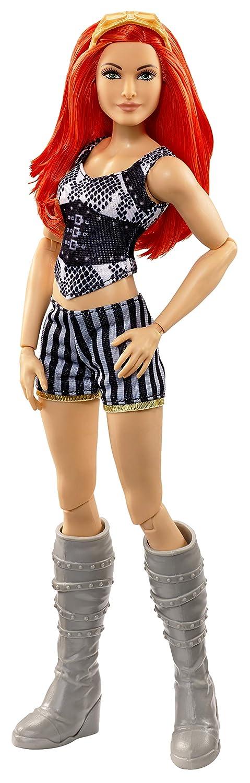 WWE Superstars Becky Doll Mattel GCJ45