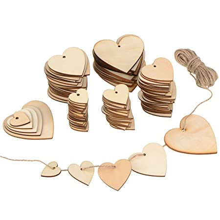 crafts embellishments cardmaking X30 Wooden Circles mixed sizes gift tags