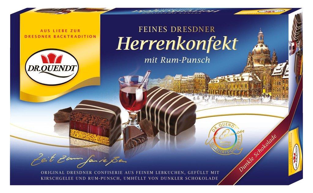 Dr.Quendt - Dresdner Herrenkonfekt mit Rum-Punsch - 160g: Amazon.de ...