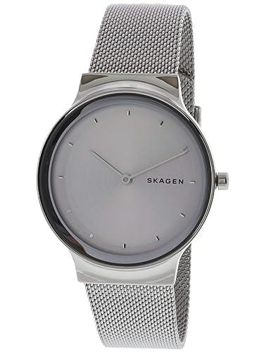 Skagen Freja Reloj de Mujer Cuarzo 34mm Correa y Caja de Acero SKW2705: Amazon.es: Relojes