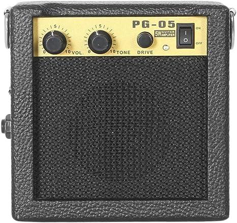 E-WAVE PG-05 5W Mini Amplificador de Guitarra Amplificador de ...