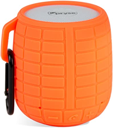 Pryse 9110003 - Mini Altavoz inalámbrico con Bluetooth (5 W) Color Naranja
