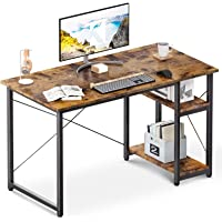 ODK 39 Inch Modern Simple Style Computer Desk with Shelves