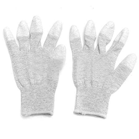 3 Pairs  Anti Static ESD Safe Universal Size Gloves UK Stock