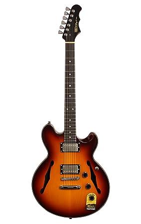 fret-king Elise bolsa de guitarra eléctrica (con funda), Sunburst: Amazon.es: Instrumentos musicales
