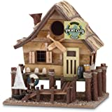 Gifts & Decor Wood Yacht Club Nautical Bird House/Feeder