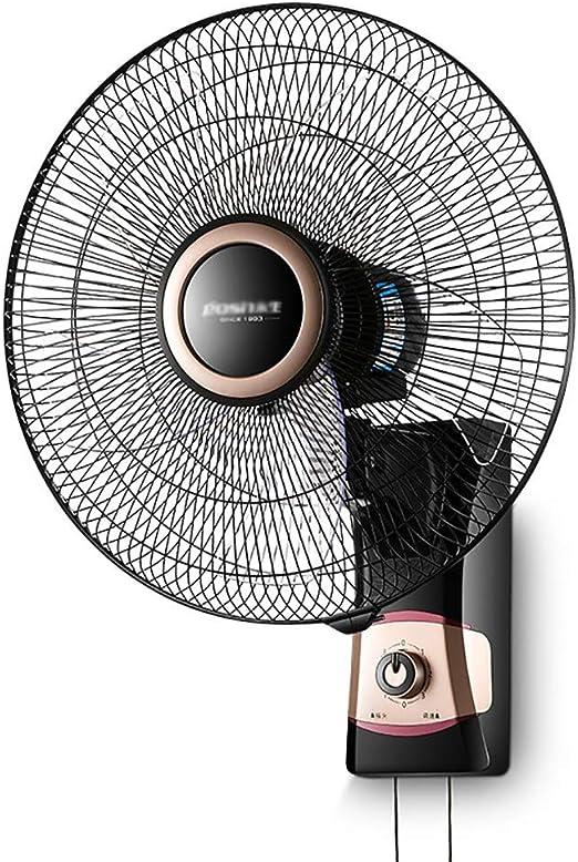 M-Y-S Ventilador, Ventilador De Oscilación Montado En La Pared ...