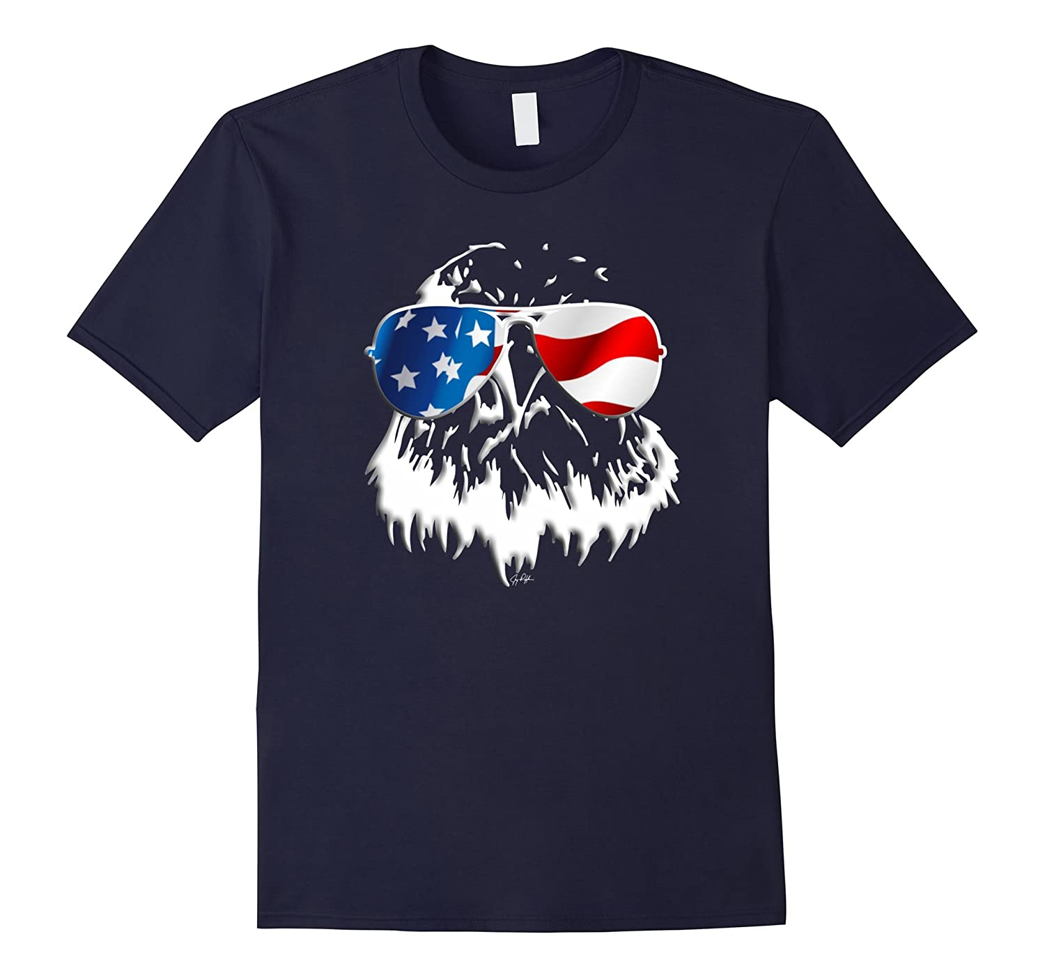 4th Of July Eagle Day Independence T-Shirt-PL