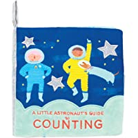 Manhattan Toy Space Themed Soft Baby Early Counting Book with Crinkle Paper