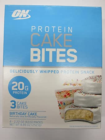 Amazon On Protein Cake Bites Whipped Snack Birthday 4