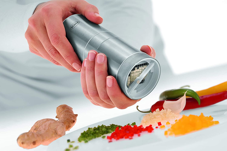 Rösle 12991 Garlic Cutter Stainless Steel: Amazon.co.uk: Kitchen & Home