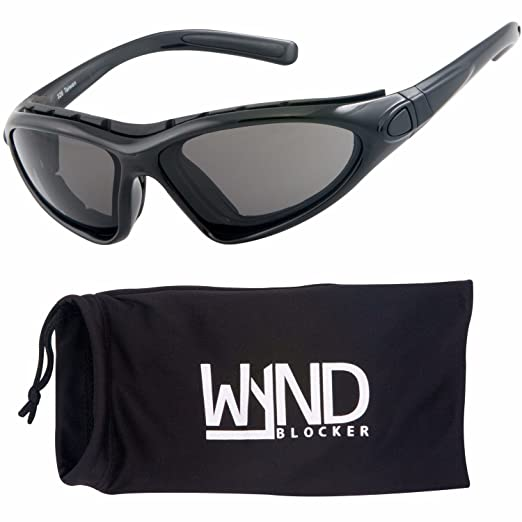 4f39014ad7f WYND Blocker Vert Motorcycle   Boating Sports Wrap Around Polarized  Sunglasses