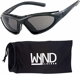 WYND Blocker Vert Motorcycle & Boating Sports Wrap Around Polarized Sunglasses