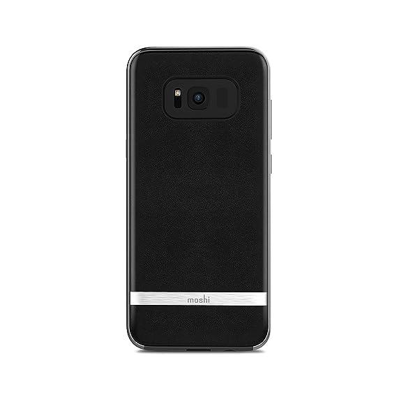 sports shoes 4b65c b4324 Amazon.com: Moshi Napa Case for Samsung Galaxy S8+ - Retail ...