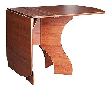 Hervorragend Klapptisch Nussbaum Abgerundete Ecken Klappbarer Tisch Tisch  Für Kleine Räume 376