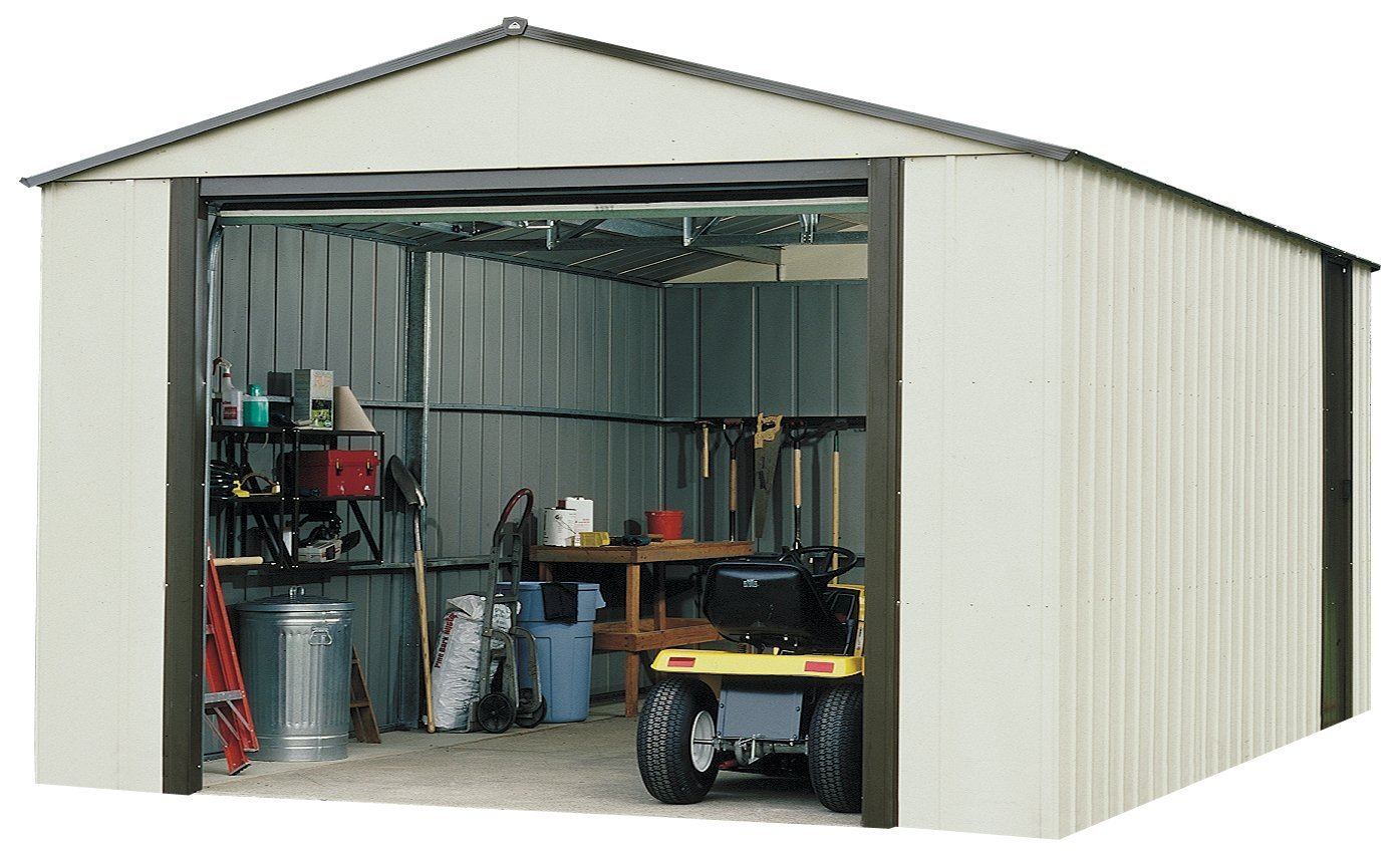 Amazon.com : Storboss Vinyl Coated Murryhill Storage Shed, 12 By 17 Feet :  Arrow Shed : Garden U0026 Outdoor