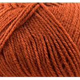 100g Top Value Double Knitting Yarn by James Brett (Rust Brown 8410) by James C Brett Yarn