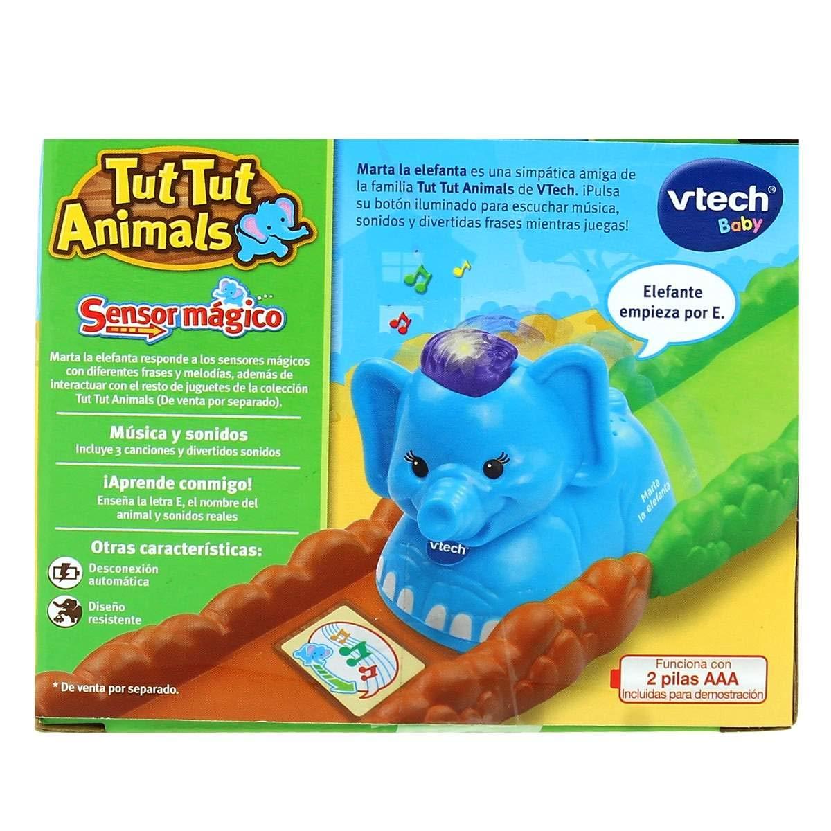Animals ElefanteAmazon Y Juegos Tut Vtech Figura esJuguetes R4A5jL3
