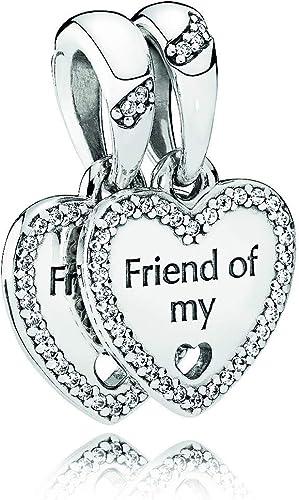 PANDORA Charm pendentif en argent de loi Coeur de l'amitié ...
