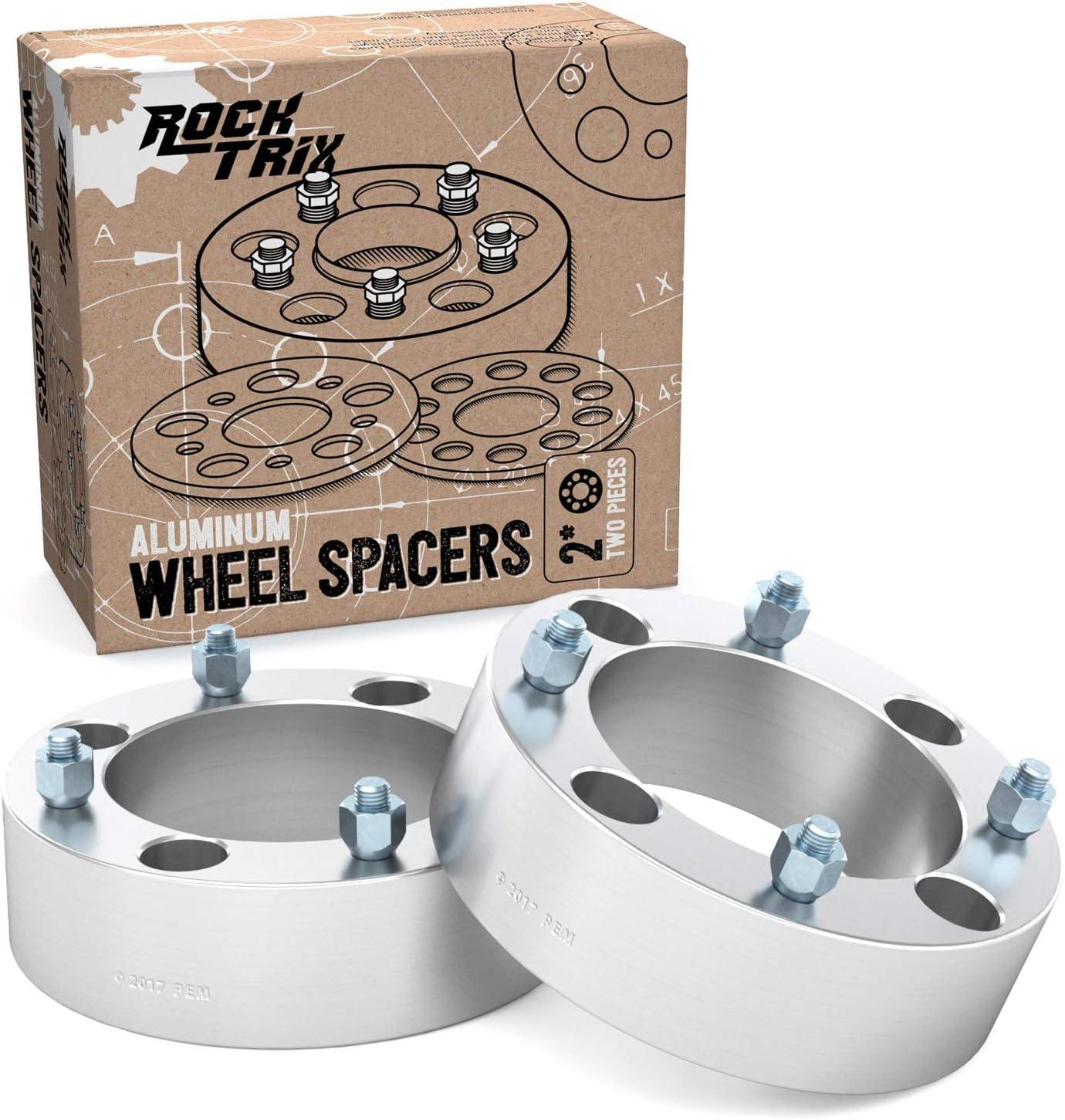 4x137-12mm 2in Thick 12x1.25 Wheel Rim Spacers 4pc Front Rear Mule Teryx UTV ATV