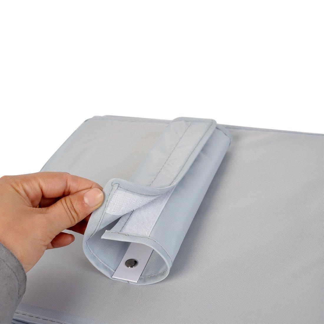 Amazon.com: eDealMax resumen la ropa Interior 6 compartimentos de almacenamiento colgantes bolso de la caja gris Oscuro: Kitchen & Dining
