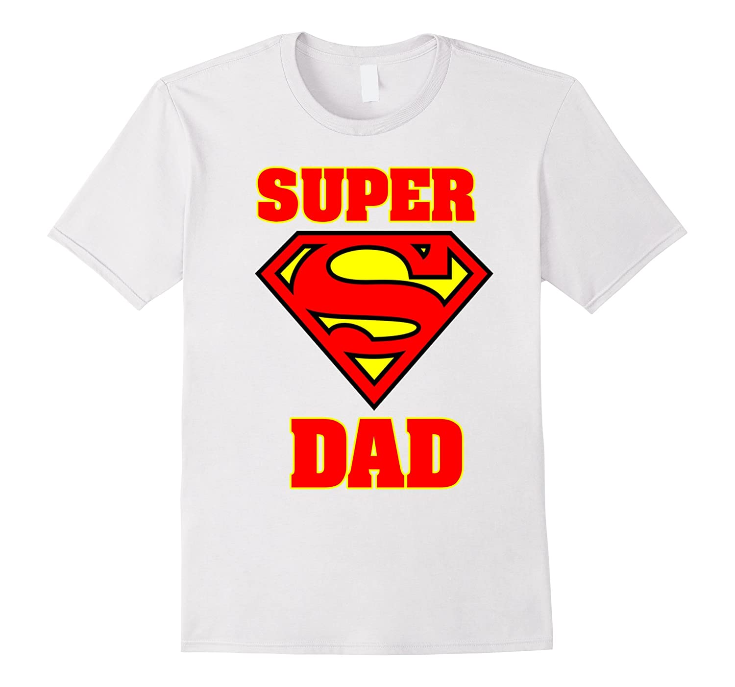 694bd0e8 T-Shirts SUPER DAD T-Shirt Birthday shirt Fathers Day Gifts for Pap Funny  Shirt
