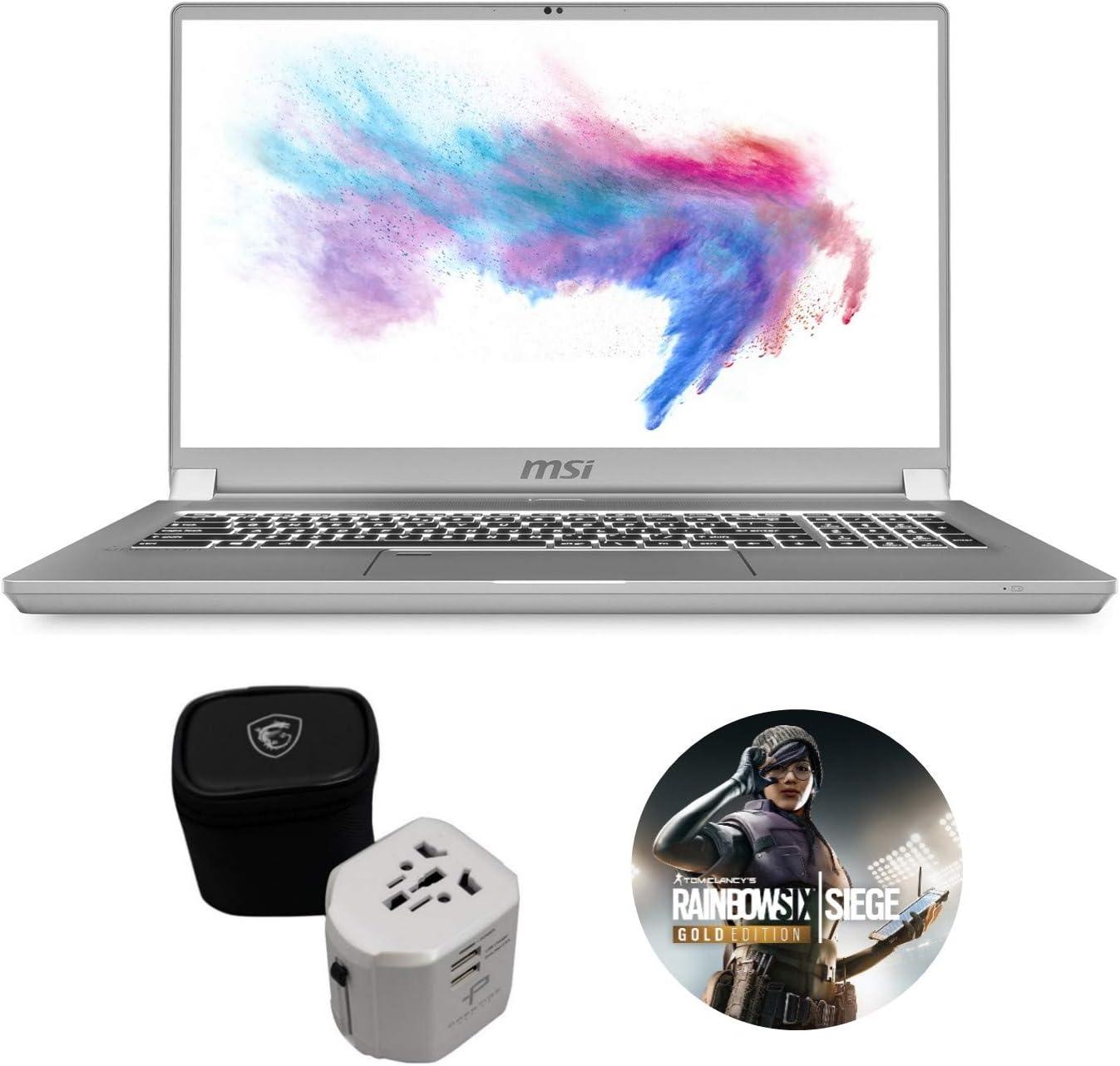 "MSI Creator 17 A10SE-256 (i7-10875H, 16GB RAM, 512GB NVMe SSD, RTX 2060 6GB, 17.3"" Full HD, Windows 10 Pro) Professional Laptop"