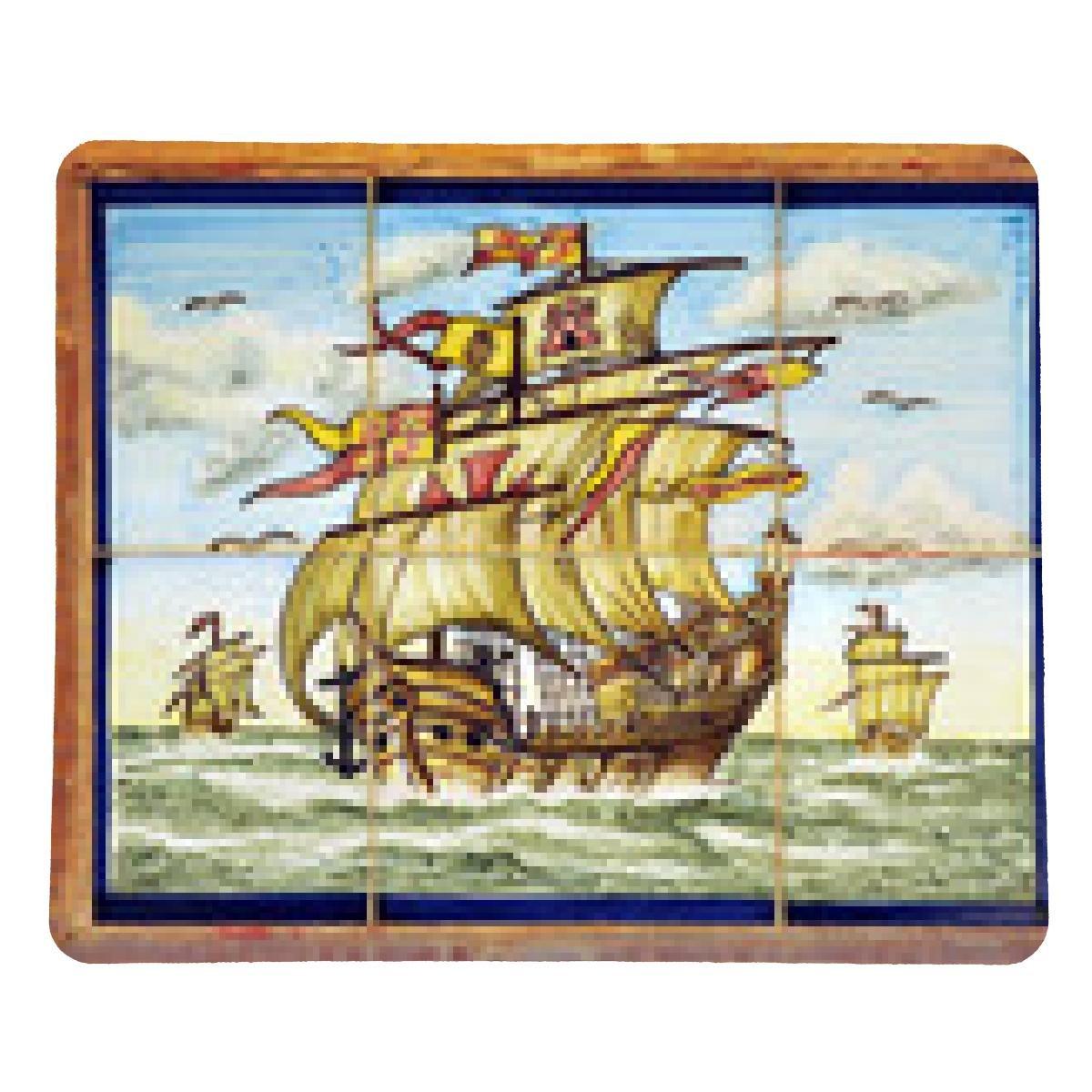 alfombrilla de ratón Las tres carabelas de Cristóbal Colón ...