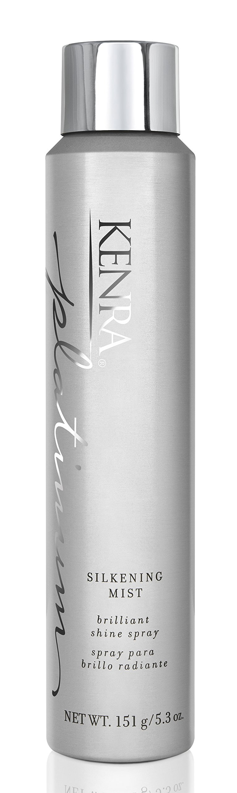 Kenra Platinum Silkening Mist Spray, 80% VOC, 5.3-Ounce