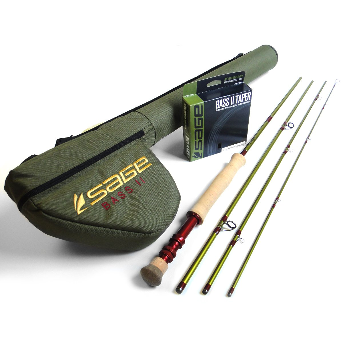 Sage Bass II Largemouth Fly Rod (7'11'', 330gr)