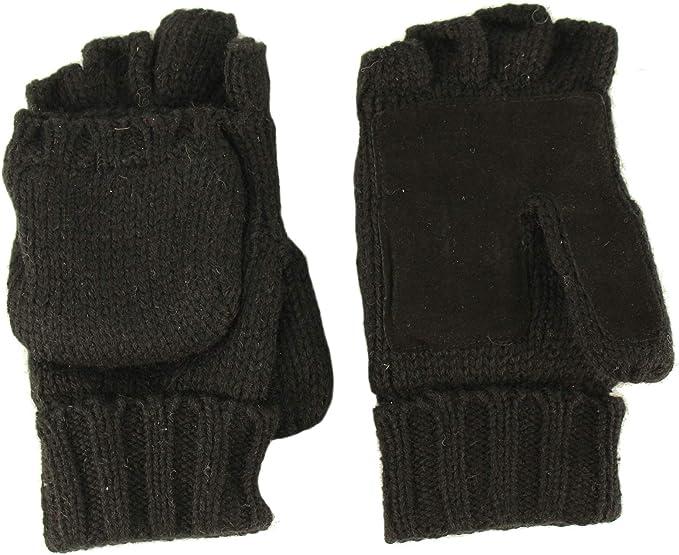 Thinsulate Hombres 3M Negro T/érmicas Guantes de invierno forrado