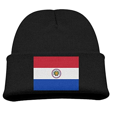 shjsertjs Flag of Paraguay Kids Hats Winter Funny Soft Knit ...
